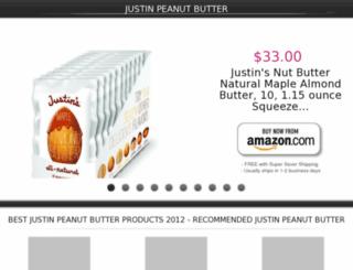 justinpeanutbutter.lowpriceshop.us screenshot