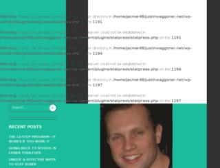 justinwaggoner.net screenshot