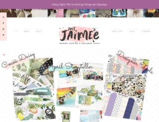 justjaimee.com screenshot