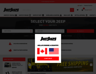 justjeeps.com screenshot