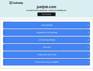 justjob.com screenshot