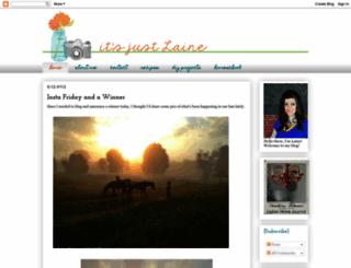 justlaine.com screenshot