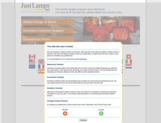 justlamps.net screenshot