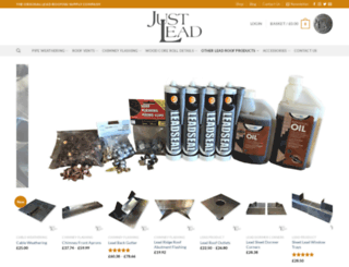 justlead.co.uk screenshot