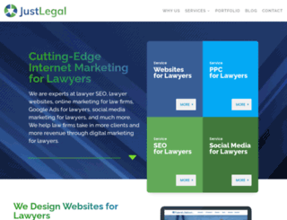 justlegalmarketing.com screenshot