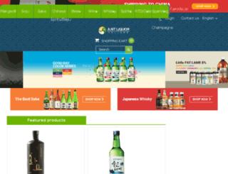 justliquor.com.au screenshot