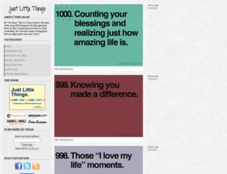 justlittlethings.net screenshot