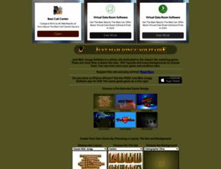 justmahjonggsolitaire.com screenshot