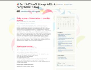 justmehanny.wordpress.com screenshot