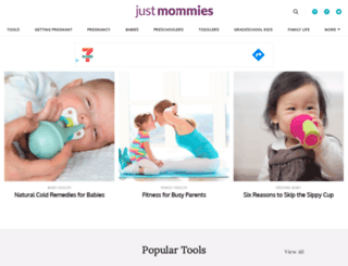 justmommies.com screenshot