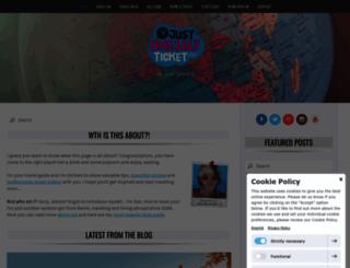 justonewayticket.com screenshot