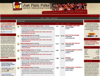 justplainfolks.org screenshot