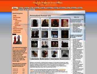 justportrait.com screenshot