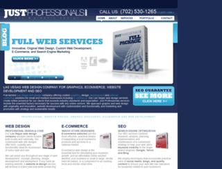 justprofessionals.com screenshot