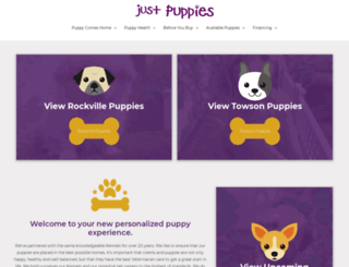 justpuppies.com screenshot