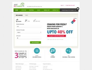 justrechargeit.com screenshot