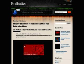 justredhat.blogspot.com screenshot