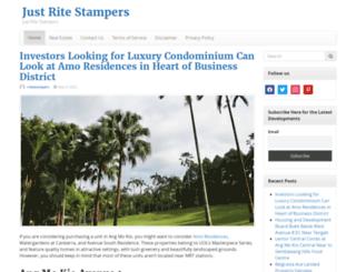 justritestampers.com screenshot