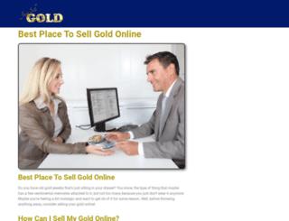 justsellgold.com screenshot