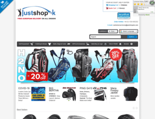 justshopok.com screenshot
