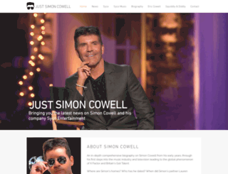 justsimoncowell.com screenshot