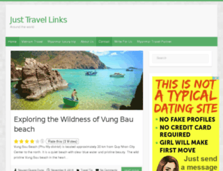 justtravellinks.com screenshot
