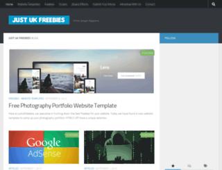 justukfreebies.co.uk screenshot