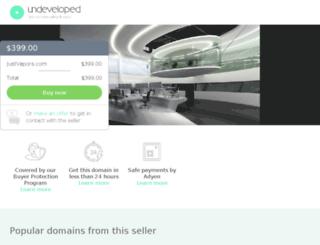 justvapors.com screenshot