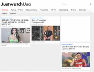 justwatchusa.com screenshot