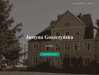 justynagoszczynska.pl screenshot