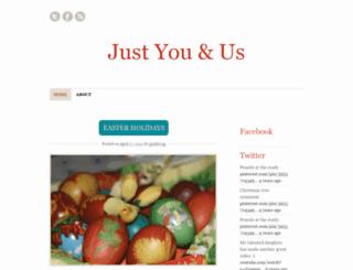 justyouandus.wordpress.com screenshot