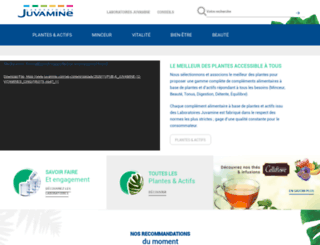 juvamine.com screenshot