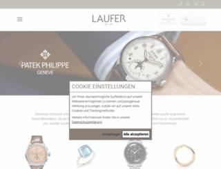 juwelier-laufer.de screenshot