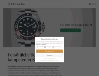 juwelier-schumann.de screenshot
