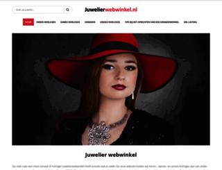 juwelierwebwinkel.nl screenshot