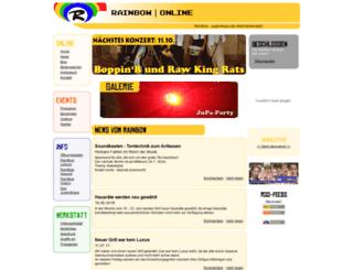 juze-rainbow.de screenshot