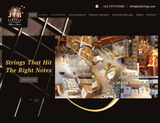 jvbstrings.com screenshot