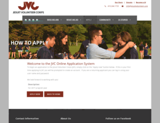 jvc.hiretouch.com screenshot