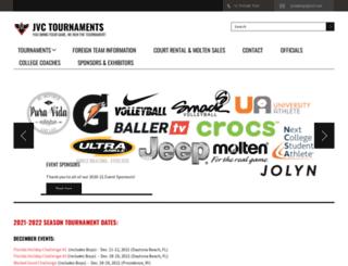 jvctournaments.com screenshot