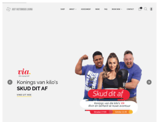 jvl.co.za screenshot
