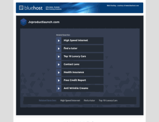 jvproductlaunch.com screenshot