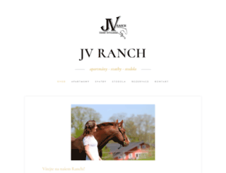 jvranch.cz screenshot