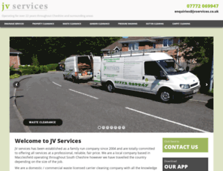 jvservices.co.uk screenshot