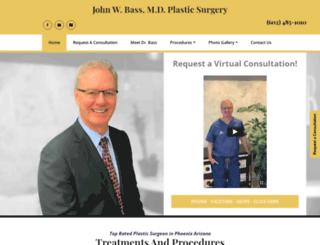 jwbass.com screenshot