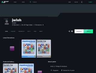 jwloh.deviantart.com screenshot