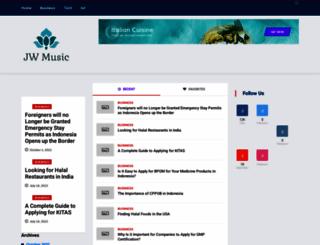 jwmusic.org screenshot