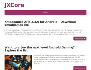 jxcore.com screenshot