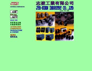 jyhkuen.com.tw screenshot