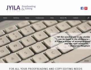 jyilaproofedit.com screenshot