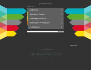 jyothisham.org screenshot